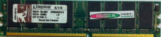 Kingston 1GB DDR PC2100U 266MHz