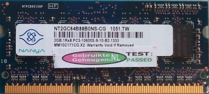 Nanya 2GB DDR3 PC3-10600S 1333MHz