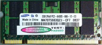 Samsung 2GB DDR2 PC2-6400S 800MHz