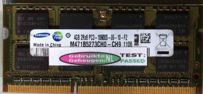 Samsung 4GB DDR3 PC3-10600S 1333MHz