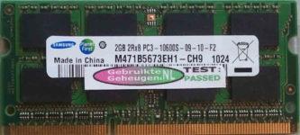 Samsung 2GB DDR3 PC3-10600S 1333MHz