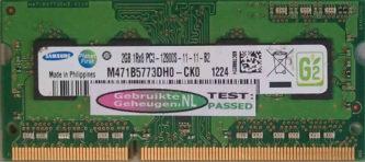 Samsung 2GB DDR3 PC3-12800S 1600MHz