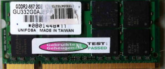 Unifosa 2GB DDR2 PC2-5300S 667MHz