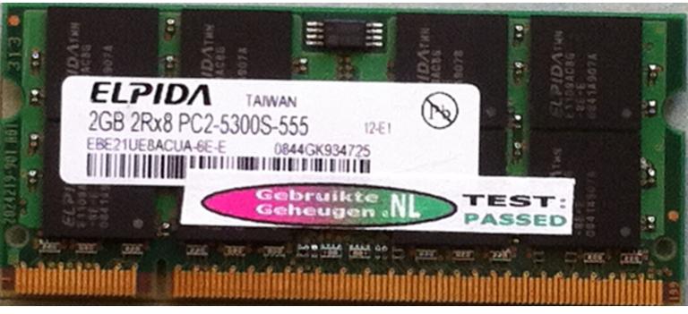 Elpida 2GB DDR2 PC2-5300S 667MHz