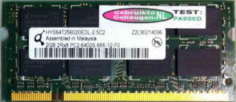 Qimonda 2GB DDR2 PC2-6400S 800MHz
