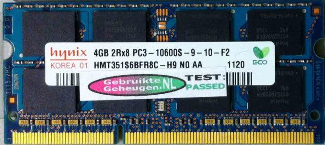 Hynix 4GB DDR3 PC3-10600S 1333MHz