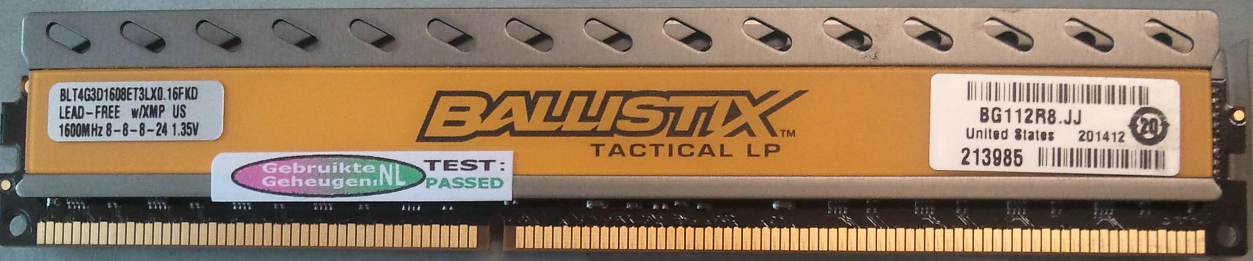 Ballistix Tactical LP