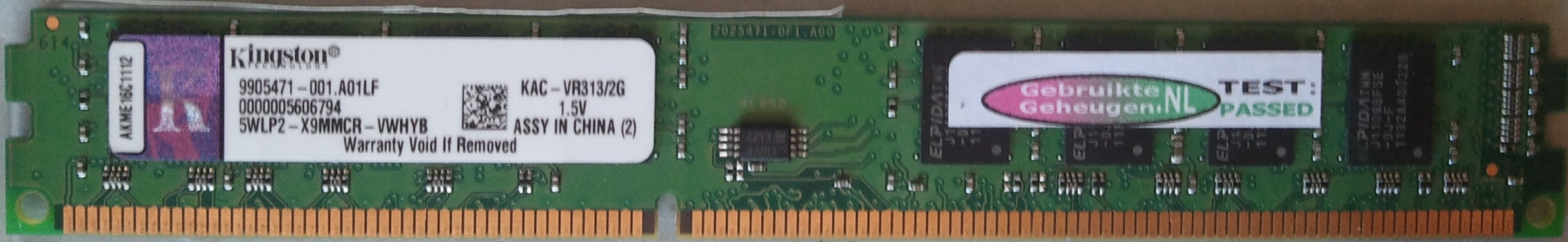 KAC-VR313/2GB