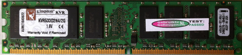 KVR533D2N4/2G