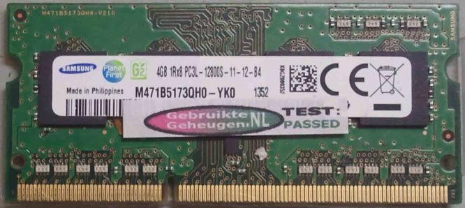 Samsung 4GB DDR3 PC3L-12800S 1600MHz