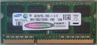 4GB 2Rx8 PC3L-12800S-11-10-F3