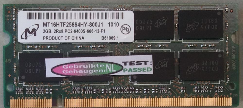 Micron 2GB PC2-6400S 800MHz