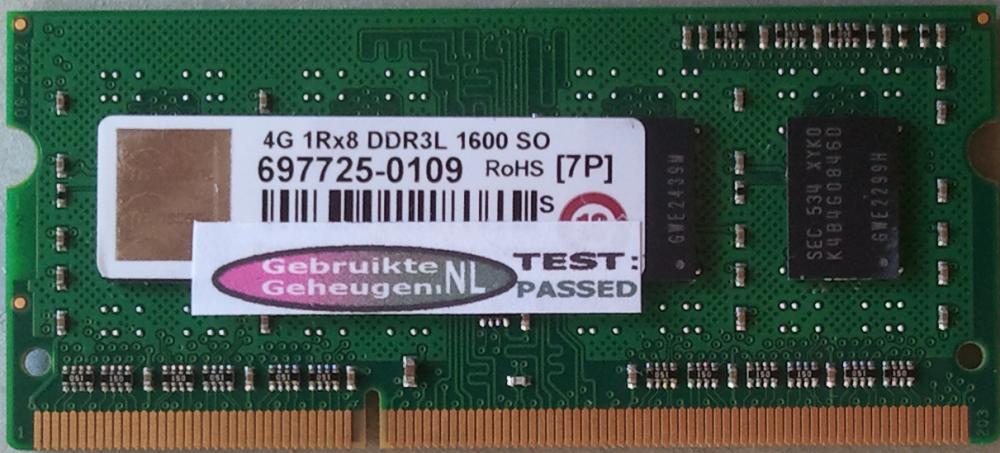 4GB 1Rx8 DDR2L 1600 SO