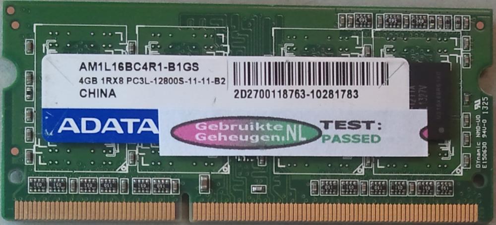 4GB 1Rx8 PC3L-12800S-11-11-B2