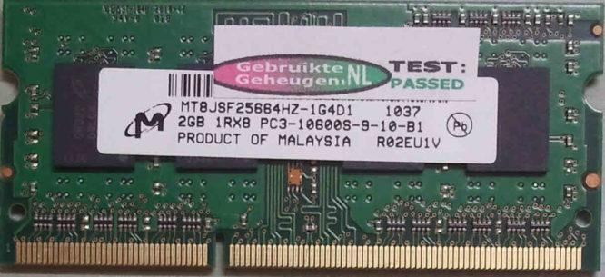 Micron 2GB DDR3 PC3-10600S 1333MHz