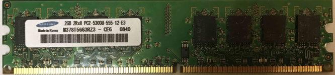 Samsung: 2GB PC2-5300U
