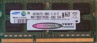 Samsung 4GB PC3-12800S 1600MHz