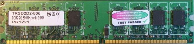 TRS 2GB PC2-6400U 800MHz