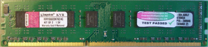 Kingston 2GB PC3-8500U 1066MHz