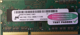 Micron 4GB PC3L-12800S 1600MHz