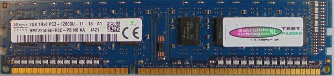 Hynix 2GB PC3-12800U 1600MHz