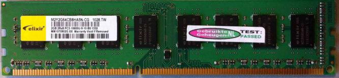Elixir 2GB PC3-10600U 1333MHz