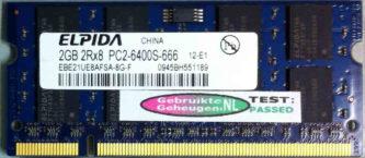 Elpida 2GB PC2-6400S 800MHz