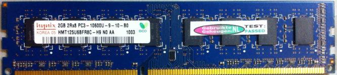 Hynix 2GB PC3-10600U 1333MHz