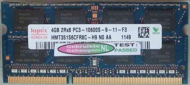 Hynix 4GB PC3-10600S 1333MHz