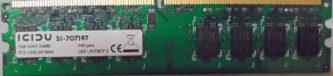 Icidu 2GB PC2-5300U 667MHz