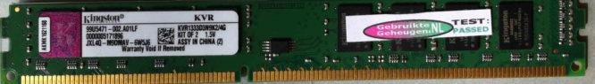 Kingston 2GB PC3-10600U 1333MHz