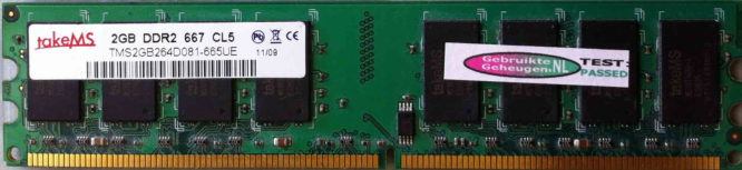 takeMS 2GB PC2-6400U 800MHz