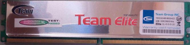 TeamGroup2GB PC2-6400U 800MHz