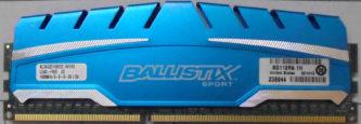 Crucial 4GB PC3-12800U 1600MHz