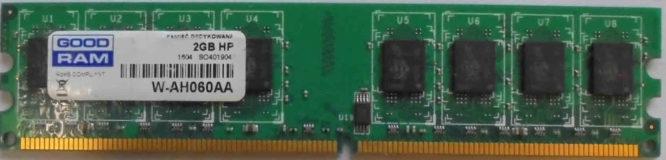GoodRam 2GB PC2-6400U 800MHz