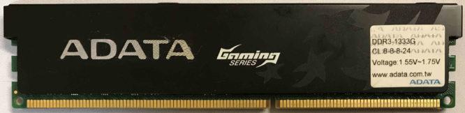 Adata 2GB PC3-10600U 1333MHz
