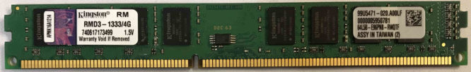 Kingston 4GB PC3-10600U 1333MHz
