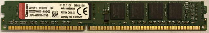 Kingston 4GB PC3-10600U 1333MHz