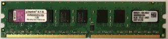 Kingston 2GB PC2-6400E 800MHz