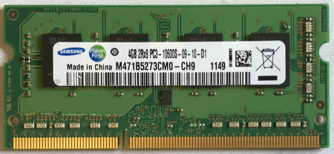 Samsung 4GB PC3-10600S 1333MHz