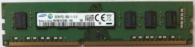 Samsung 8GB PC3L-12800U 1600MHz