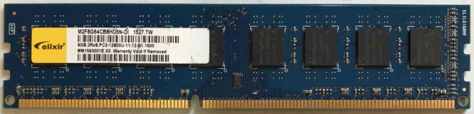 Elixir 8GB PC3-12800U 1600MHz