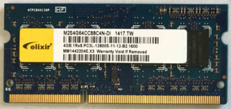 Elixir 4GB PC3L-12800S 1600MHz