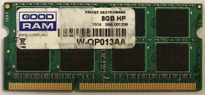 Corsair 8GB PC3-10600S 1333MHz