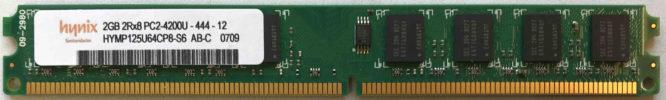 Hynix 2GB PC2-4200U 533MHz