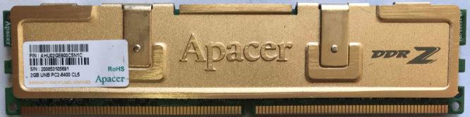 Apacer 2GB PC2-6400U 800MHz