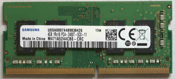 Samsung 4GB PC4-2400T-SC0-11