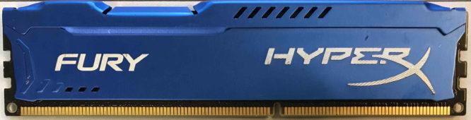 Kingston HyperX 4GB PC3-12800U 1600MHz