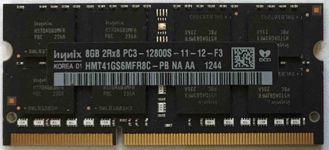 Hynix: 8GB PC3-12800S