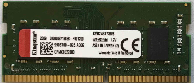 Kingston 8GB PC4-2400T